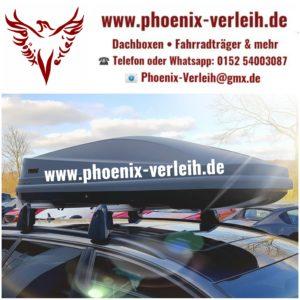 Dachbox Thule Touring L 420 Liter mieten