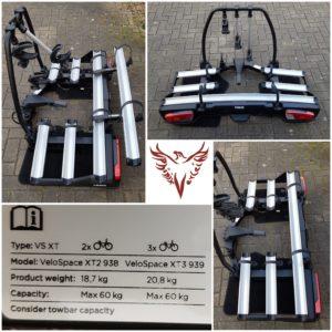 Fahrradheckträger Thule VeloSpace XT 3 – für 3 Bikes mieten