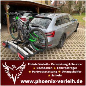 Fahrradheckträger mieten | Thule VeloSpace XT 3 | für 3 Bikes | bis 60 kg