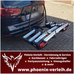 Fahrradheckträger mieten | Thule VeloSpace XT 3 | für 4 Bikes | bis 60 kg