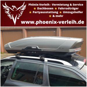 Dachbox mieten | Thule Motion XT XL | 500 Liter | bis 75 kg
