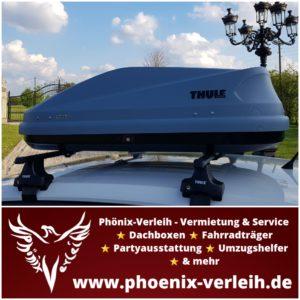 Dachbox mieten | Thule Touring S | 330 Liter | bis 50 kg
