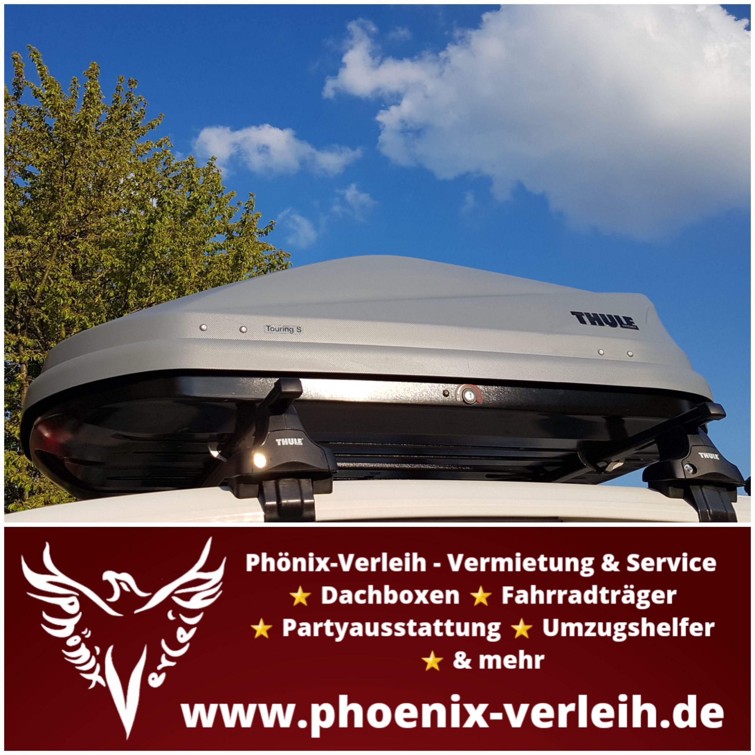 Phoenix-Verleih-Vermietung-Service-zuverlässig-fair-leihen-Dachbox-Thule-Touring-S-mieten-NRW- Kreis-Wesel-Rheinberg-3